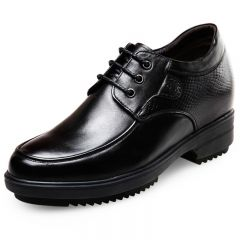 Korean gentlemen extra taller business formal shoes 4inch / 10cm