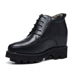 Super Taller 6inch Elevator Shoes Lace Up Hidden Lift Dress Shoes Increase Height 15cm