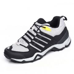 Height increasing hiking shoes gain tall 7.5cm / 2.95inch grey outdoor sports shoes