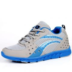 breathable gauze hiking elevator sports shoes make you look taller 8cm / 3.15inches height increasing running shoes