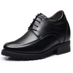 Comfortable 4.7inch Height Increasing Formal Shoes Lace Up Elevator Dress Shoes Get Taller 12cm