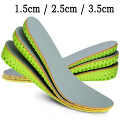 Tailorable Height increasing Shoes Pad Breathable Honeycomb Heel Lift Cushion Insoles