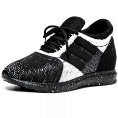 New Taller Flyknit Racer Height Increasing 4inch / 10cm Elevator Fashion Sneakers