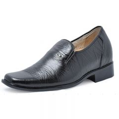 men elevator dress shoes become taller 7cm / 2.75inches