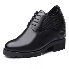 5.5 inch Elevator Shoes Height Increasing Wedding Shoes for Bridegroom Get Taller 14cm